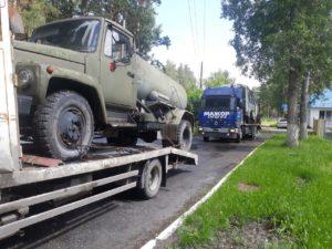 услуги грузового эвакуатора в Тюмени